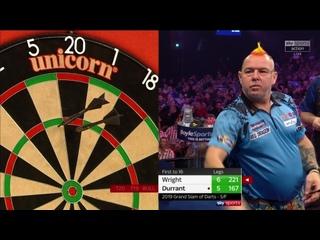 Peter Wright vs Glen Durrant (Grand Slam of Darts 2019 / Semi Final)