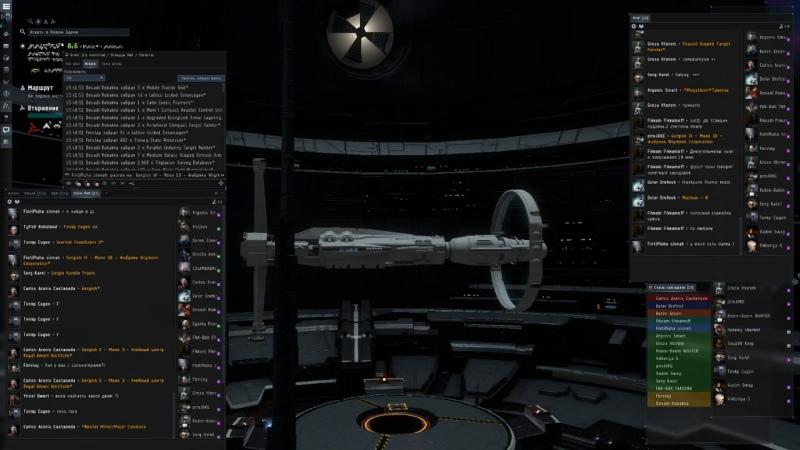 EVE Online Триглав Мажоры флотом