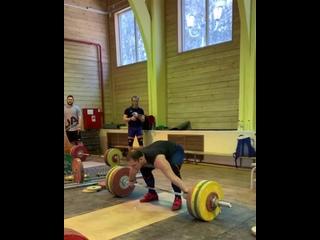 Артем Окулов рвет 160 кг