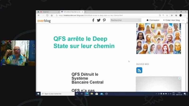 QFS détruit le DEEP STATE