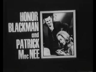 Variety Club Award: Honor Blackman and Patrick Macnee
