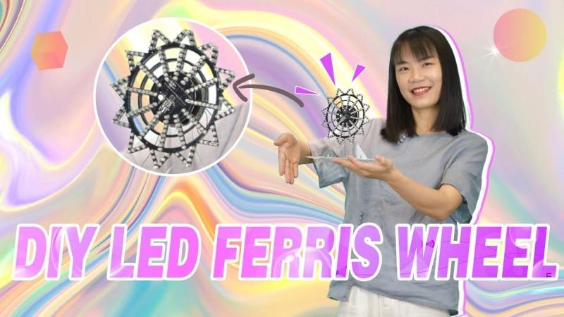 Soldering Challenge E4 DIY LED Ferris Wheel