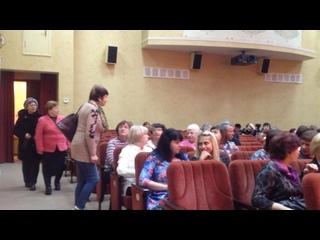 Атмосфера перед концертом в мой День рождения,,Дом офицеров, Белгород
