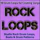 Studio Rock Drum Loops, Beats & Drum Patterns - Heavy Rock Drum Metal Groove 13 Loop 86bpm
