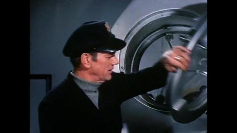 С ЗЕМЛИ НА ЛУНУ 1958 фантастика приключения экранизация Жюля Верна Байрон Хэскин 1080p