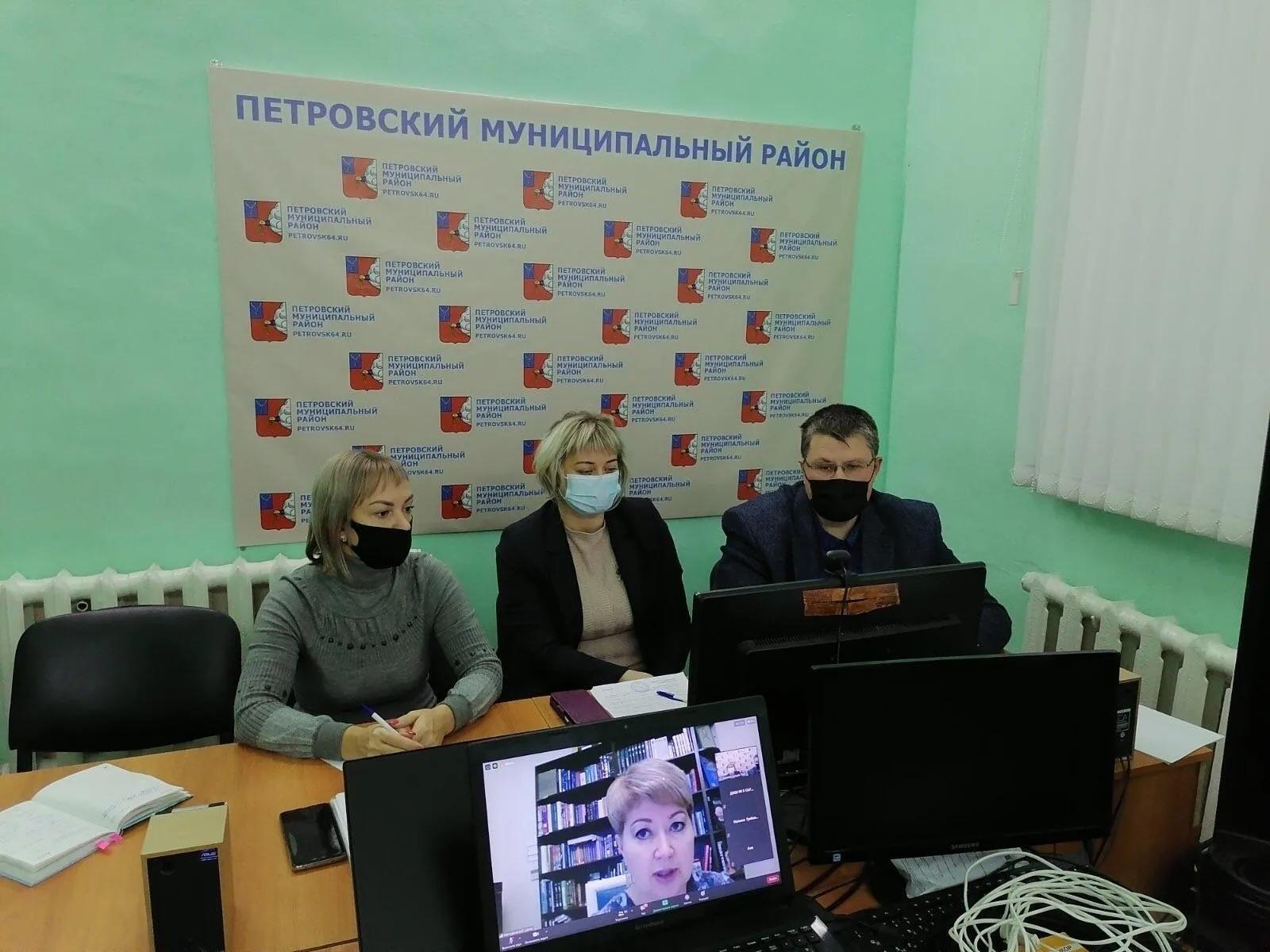 Петровчане приняли участие в совещании с министром культуры региона