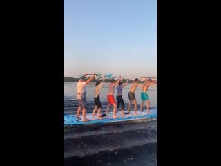 Lahta SUP, станция САП-серфинга в СПб, Лахта kullanıcısından video