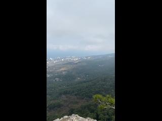 Захватывающий вид с гор