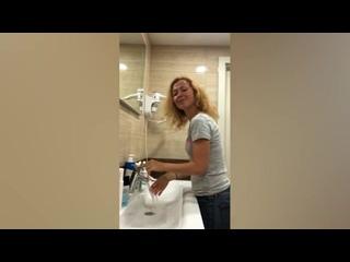 Участники акции #МыВместе запустили флешмоб по мытью рук