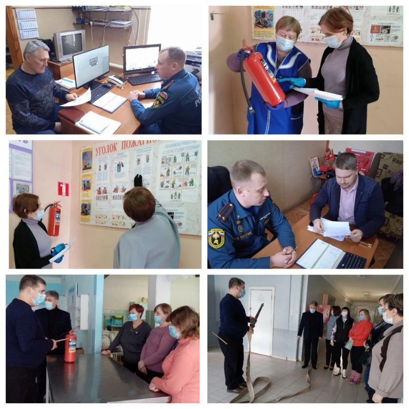 В управлении образования Петровского района обсудили меры пожарной безопасности зданий школ и детских садов