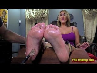 megan jones feet tickle