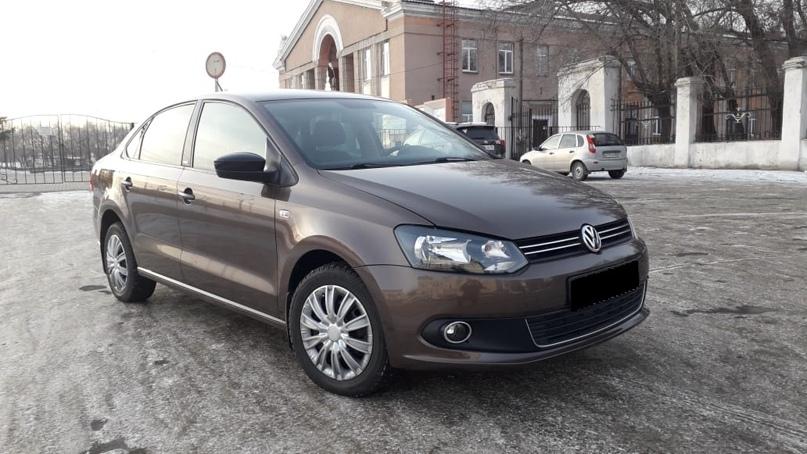 Volkswagen Polo 2014 г.  Автомобиль в отличном | Объявления Орска и Новотроицка №13036