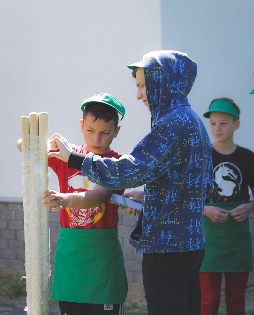 Воспитанников Таремского детского дома навестили сотрудники «Союза Маринс Групп», изображение №3