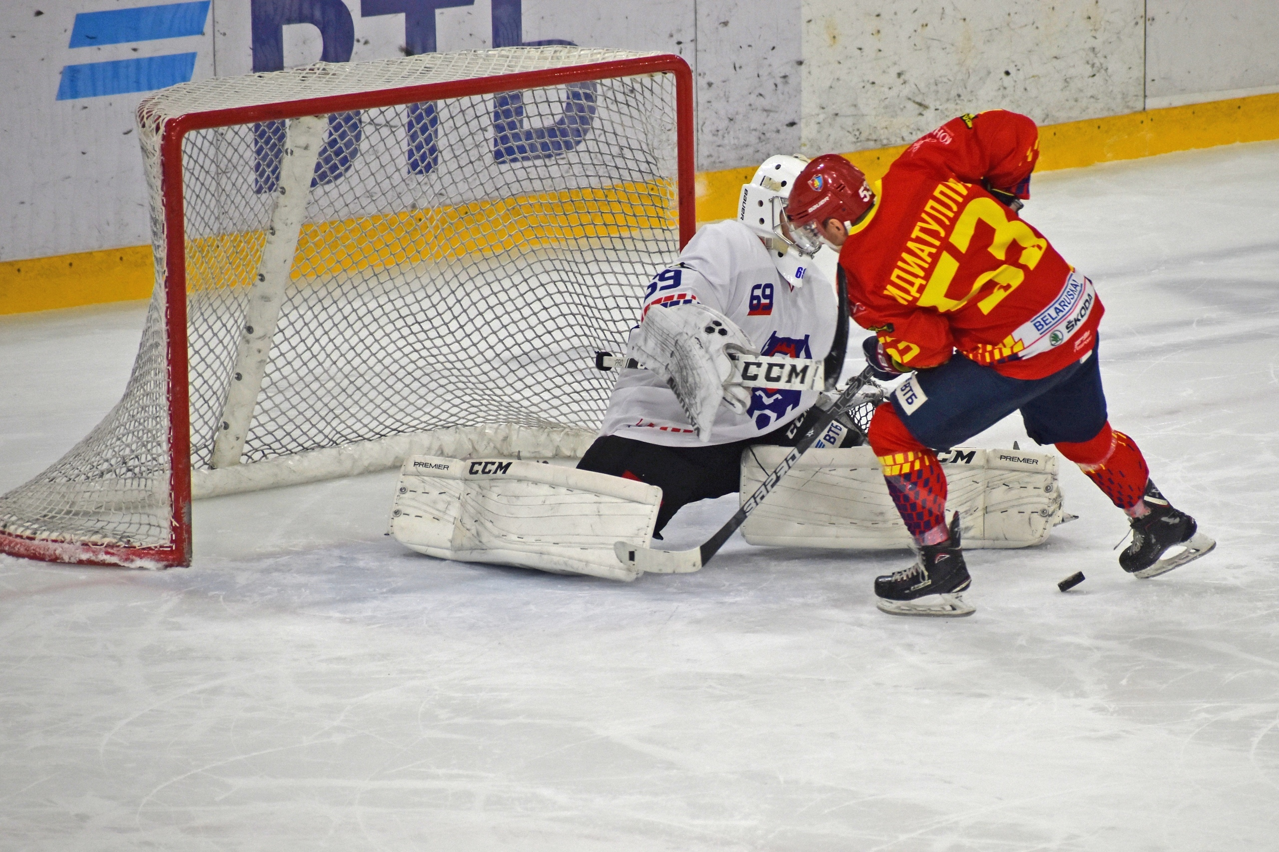Хоккейный клуб «Лида» по буллитам уступил «Бресту».