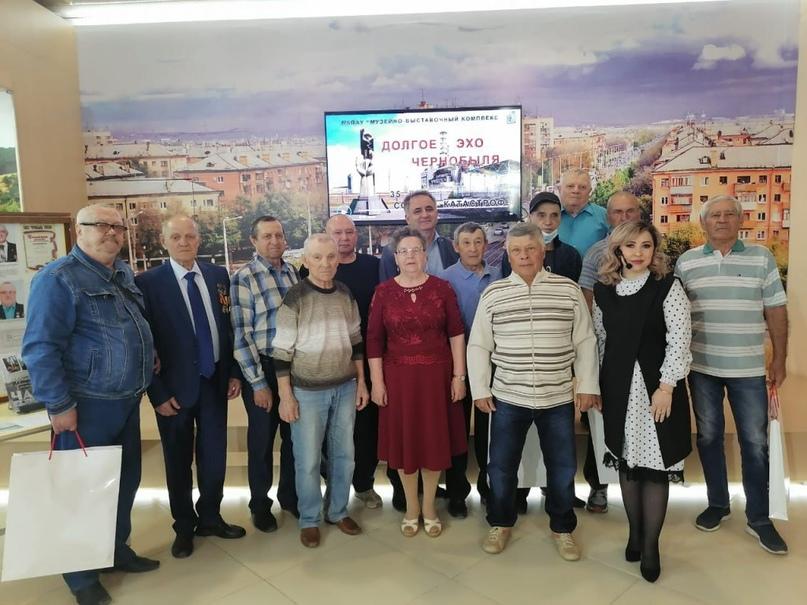 Новотройчанам, ликвидировавшим аварию на Чернобыльской АЭС, вручили награды