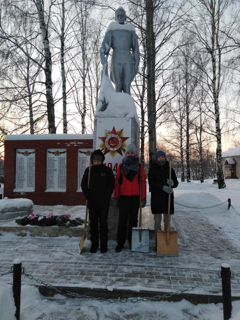 Ребята из Вишурской школы подключились к акции