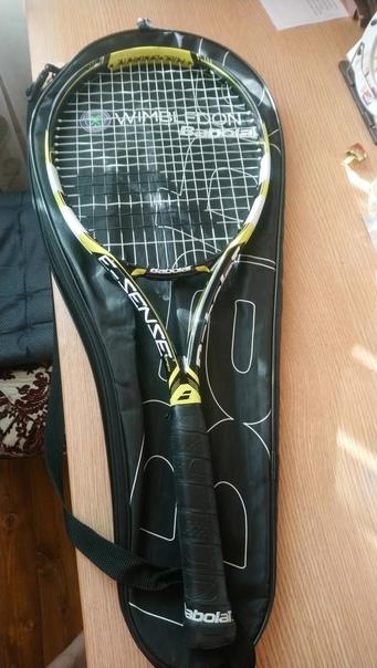 Теннисная ракетка, немного б/у, фирма Babolat, тор...