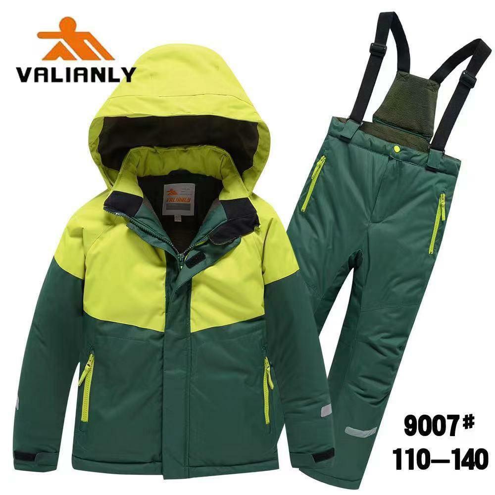 Зимний комплект Valianly 9007 зеленый