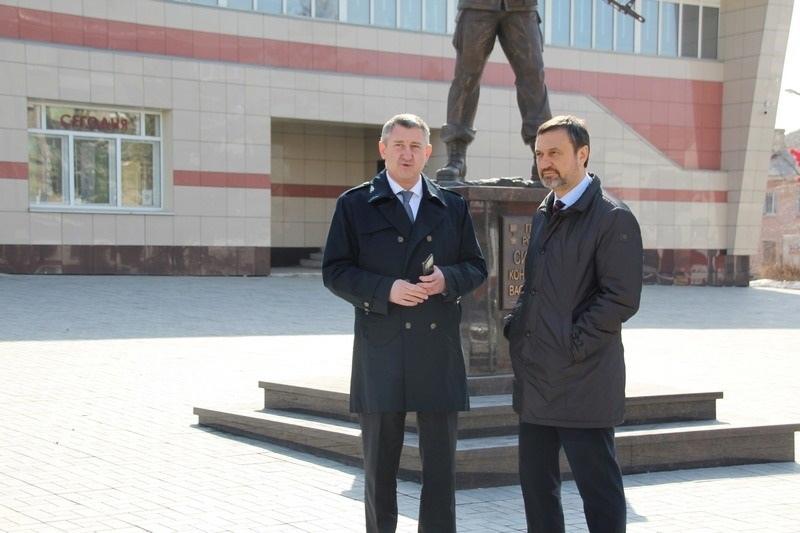 ⚡Вице-губернатор Игорь Сухарев вновь посетил Новотроицк