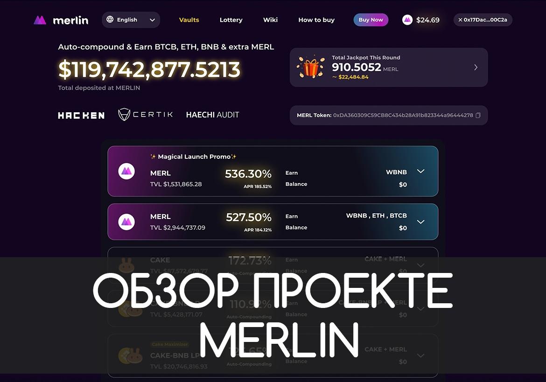 Обзор и отзывы о проекте Merlin