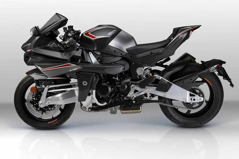 Мотоцикл Bimota Tesi H2 Carbon Stealth Black 2021