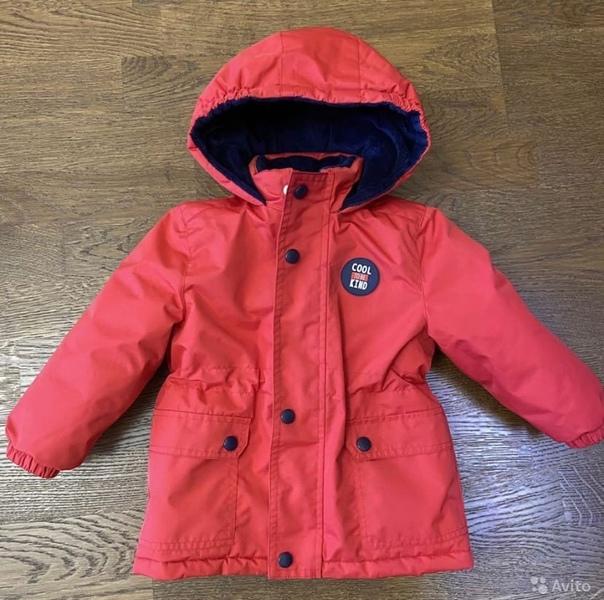 Куртка детская демисезонная, размер 86. Цена 1 000...