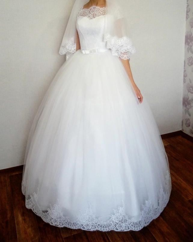 Купить свадебное платье в отличном | Объявления Орска и Новотроицка №28939