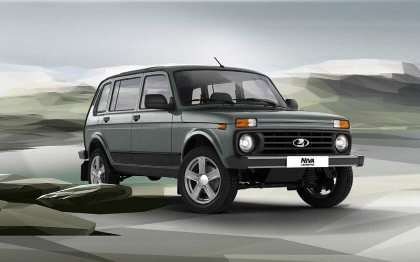 Возобновился выпуск пятидверной Lada Niva Legend
