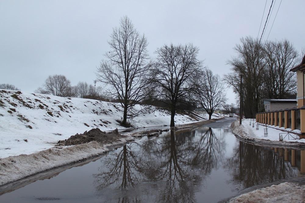 Великий Новгород в феврале
