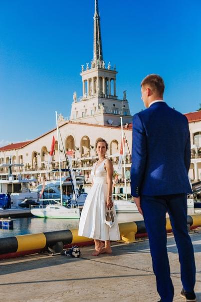 Свадебная фотосессия в Сочи. 09.20