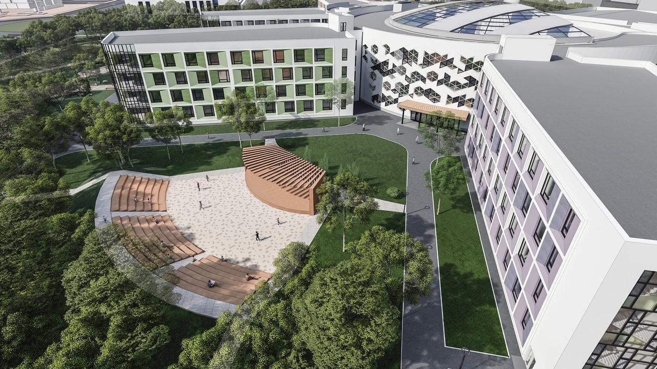 Так будет выглядеть самая большая школа в России, рассчитанная на 2 860 мест. Об...