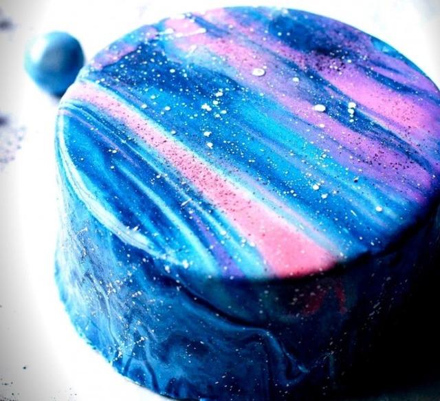"""Как оформить торты """"Космос"""" и """"Галактика"""""""