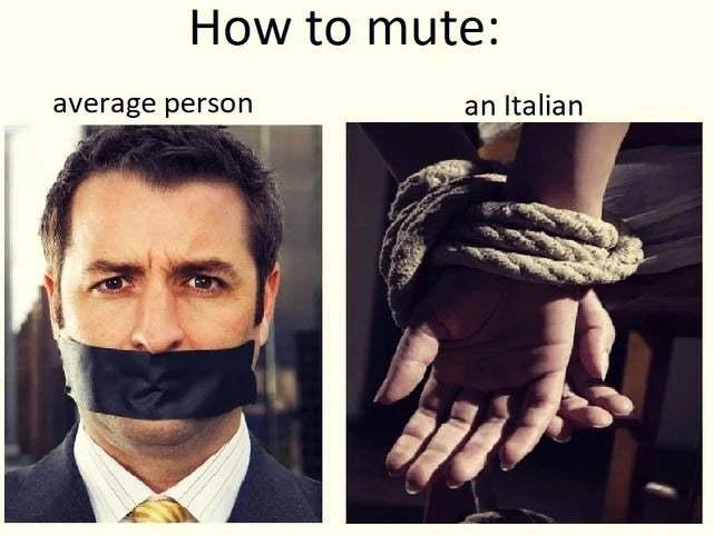 Итальянский юмор