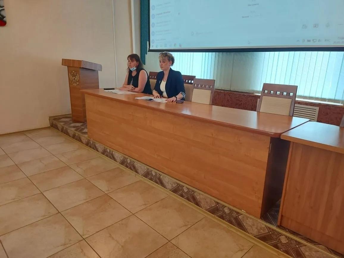 Состоялось заседание комиссии по организации мероприятий, направленных на снижение неформальной занятости
