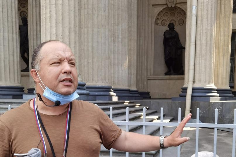 Дмитрий Михайлович Геращенко – гид по Санкт-Петербургу увлекательно рассказывает об Александре Невском