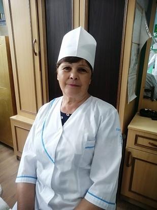 Вихлянцева Алла Григорьевна – медицинская сестра, стаж работы 30 лет.