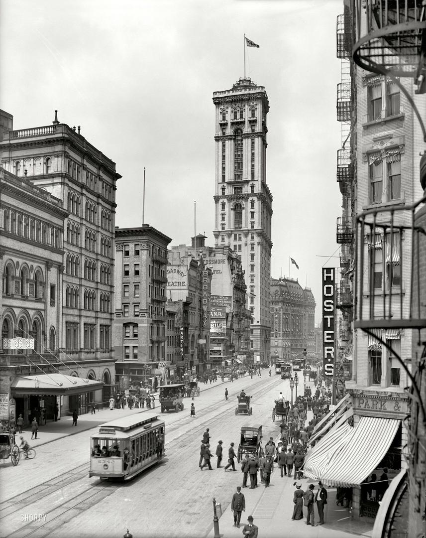 HD-фотографии городов США сделанные в 1900-1915 годах, изображение №19