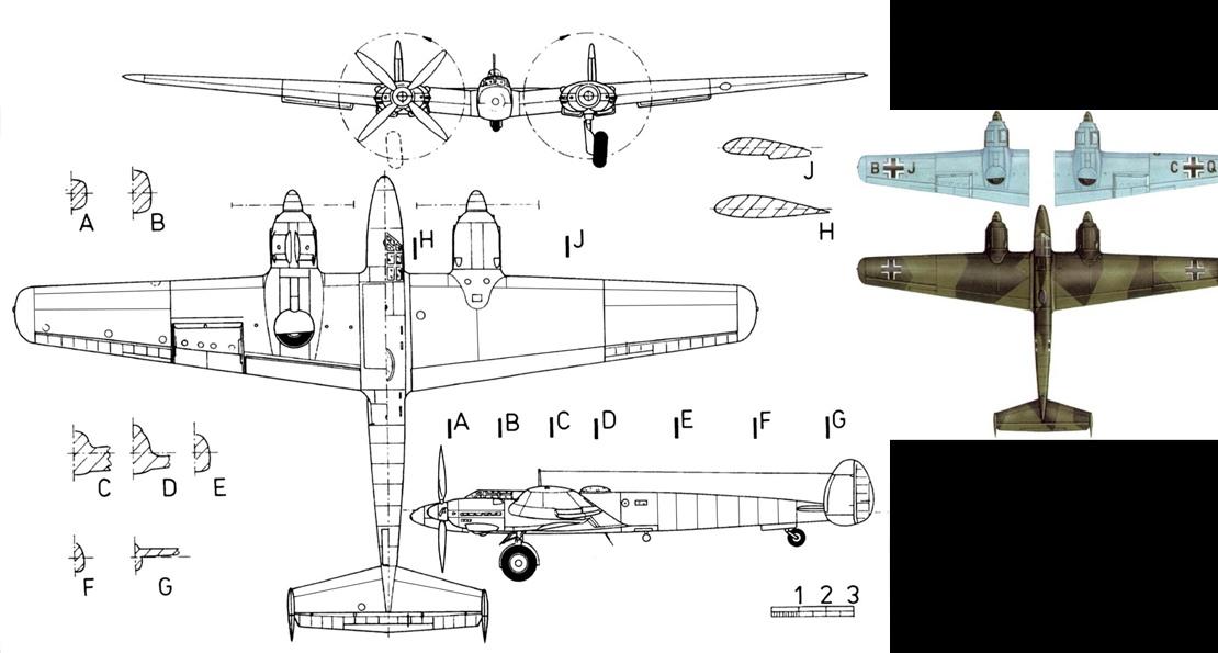 Бомбардировщик Ме 261