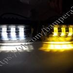 Светодиодные LED-туманки Sal-Man на ВАЗ 2110-2115 2 режима