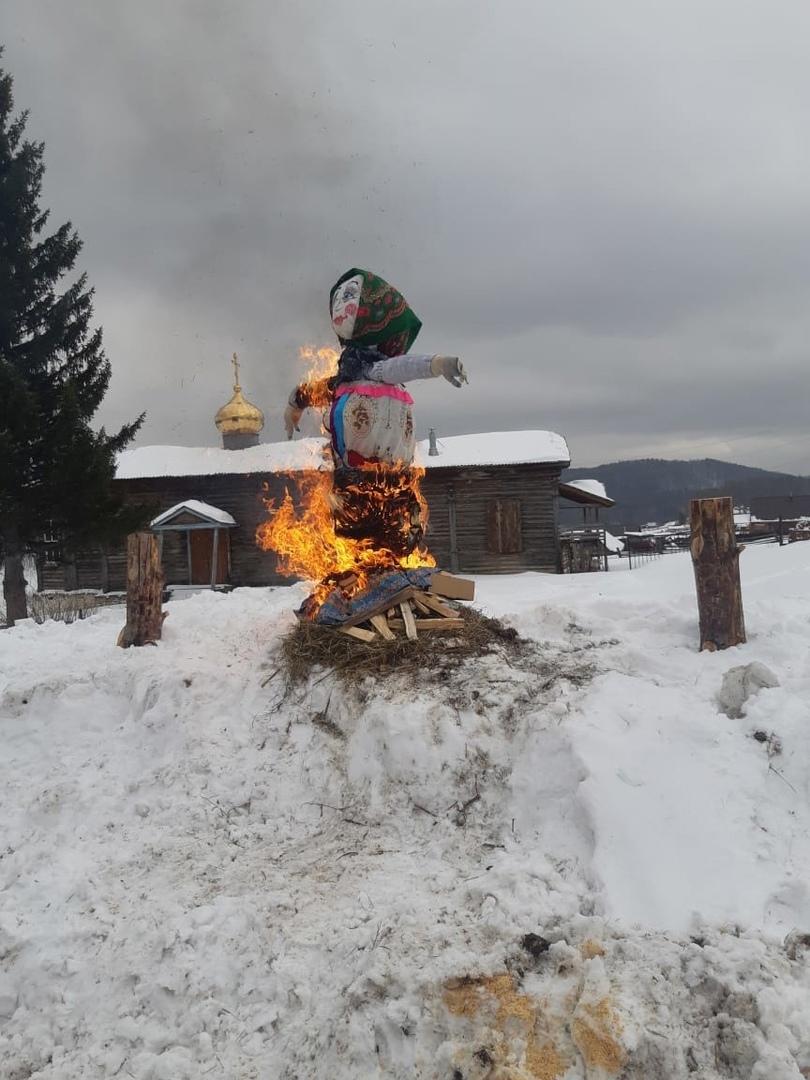 Прощание с зимой в с. Веселовка., изображение №4