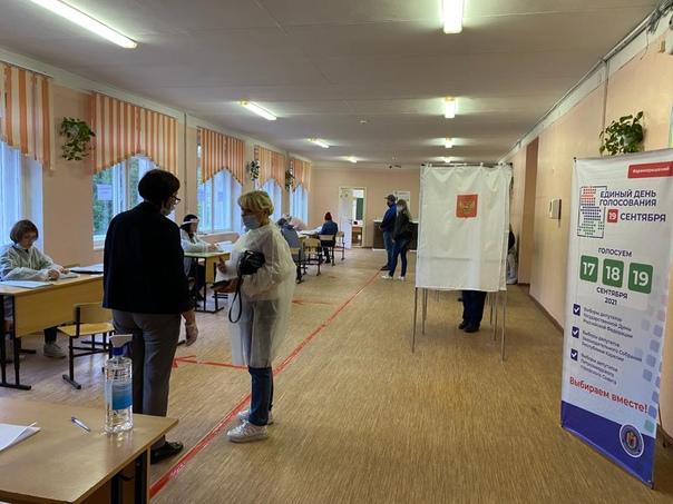 Трехдневное голосование на выборах началось в Карелии