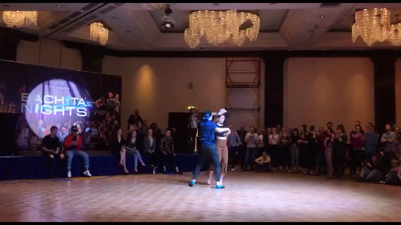 Dima Daria Bachata's Nights 2019 Final J J Bachata Profi