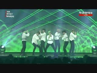 181128 bts fake love + vcr + idol @ 2018 asia artist awards