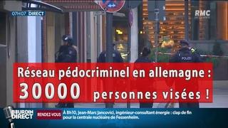 Réseau pédocriminel en Allemagne : 30000 suspects
