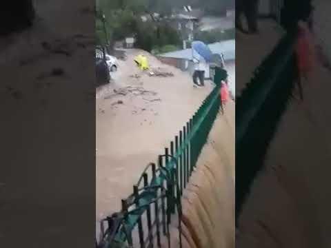 Flooding Karitsa, Lake Plastiras | ΣΤΟ χωριό ΚΑΡΙΤΣΑ στην Λίμνη πλαστήρα-Σοβ94