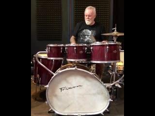 Roger Taylor - Trixon Telstar drums