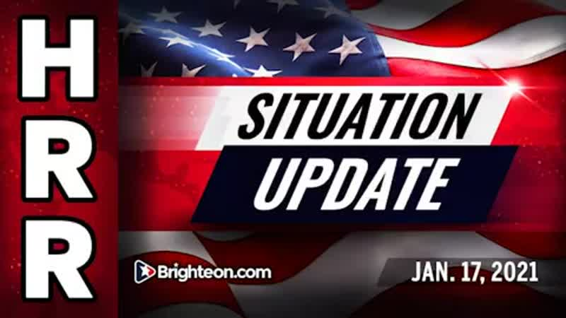 Situation Update Jan 17th 2021 Dems build walls around Trump and DC to keep the people out