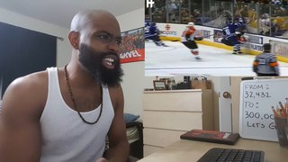 Biggest Hockey Hits Ever Simple Mike Reaction (NHL)