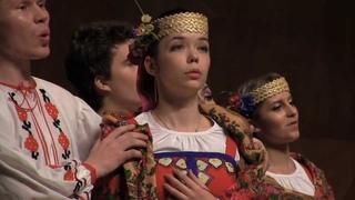 "Belorussian folk song ""Mist"" (Tuman)( ) - Choir of the BSAM in China"