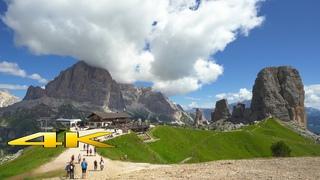 Dolomites Cinque Torri ( 5 Torri ) Italy 4K 🇮🇹